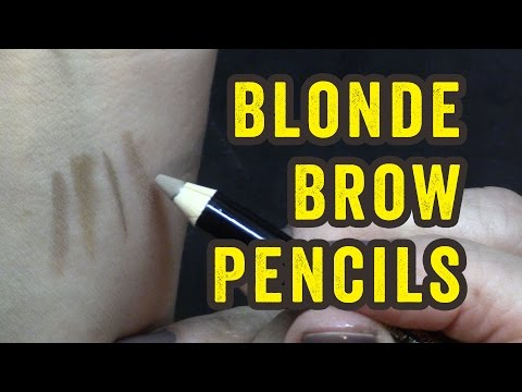 Sally Beauty Soft Powder Brow Pencils Blonde & Dark Blonde