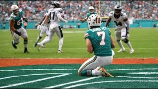Swimming with the Pigeons: Eagles Lose to the Dolphins