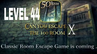 Can You Escape The 100 room X level 44 Walkthrough