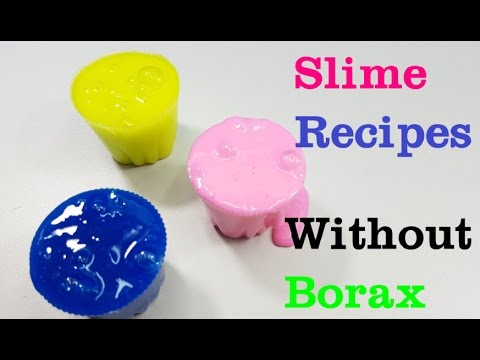 3 ways popular no borax slime recipes how to make slime without 3 ways popular no borax slime recipes how to make slime without borax ccuart Choice Image