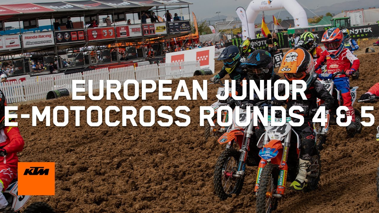 European Junior e-Motocross Highlights - Rounds 4 & 5, Italy | KTM