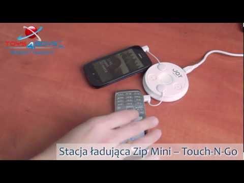 Stacja ładująca Zip Mini  TouchNGo  Toys4Boys.pl