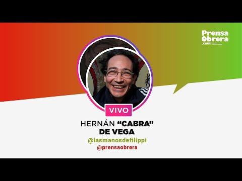 """Entrevista con el """"Cabra"""" de Las Manos de Filippi // Instagram Live"""