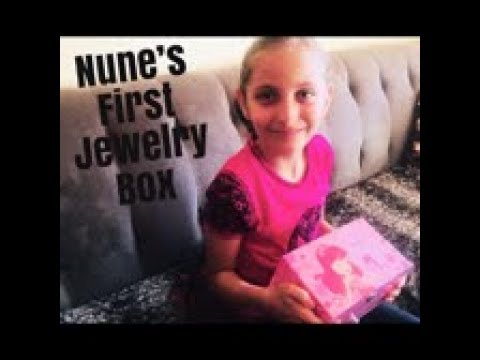 Nune's First Twirling Balerina Jewelry Box SONGMICS Reveal and Review ,My First Jewelry BOX