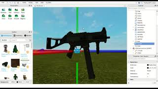 How to add FPS gun in roblox - ROBLOX