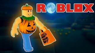 ROBLOX - PUMPKIN PARTY! (Roblox Trick Or Treat Halloween Game)