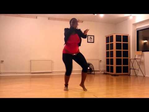 "Patoranking remix ft Tiwa Savage - Girlie ""O"" dance 7 months pregnant"