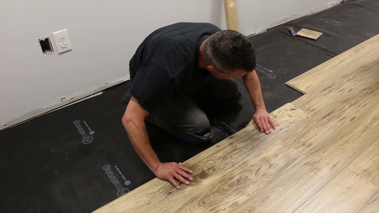 Laminate Floor Installation Armstrong