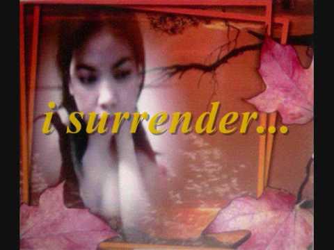 i surrender celine dion with lyrics