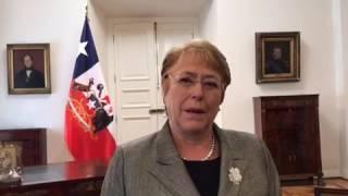 Michelle Bachelet  se suma a la Campaña #ChileReconoce #IBelong