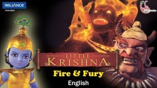 Little Krishna English - Episode 5 Fire & Fury MP3