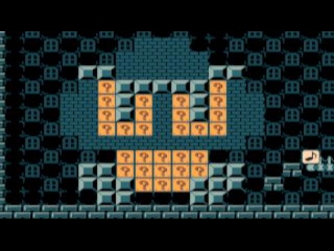 Easy - Run from the Giant Goomba by Derpface ~ SUPER MARIO MAKER ~ NO COMMENTARY