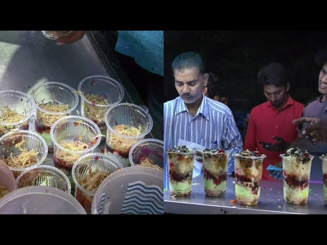 How To make Falooda | Street Food Special Sweet Falooda | VijayaWada food street | Falooda