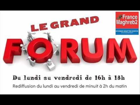 France Maghreb 2 - Le Grand Forum le 25/04/17 : Jean-Marc Zebelus et Elsa Ray