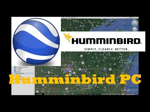 Amazing Secrets with Humminbird PC and Google Earth - CATCH MORE FISH!!!