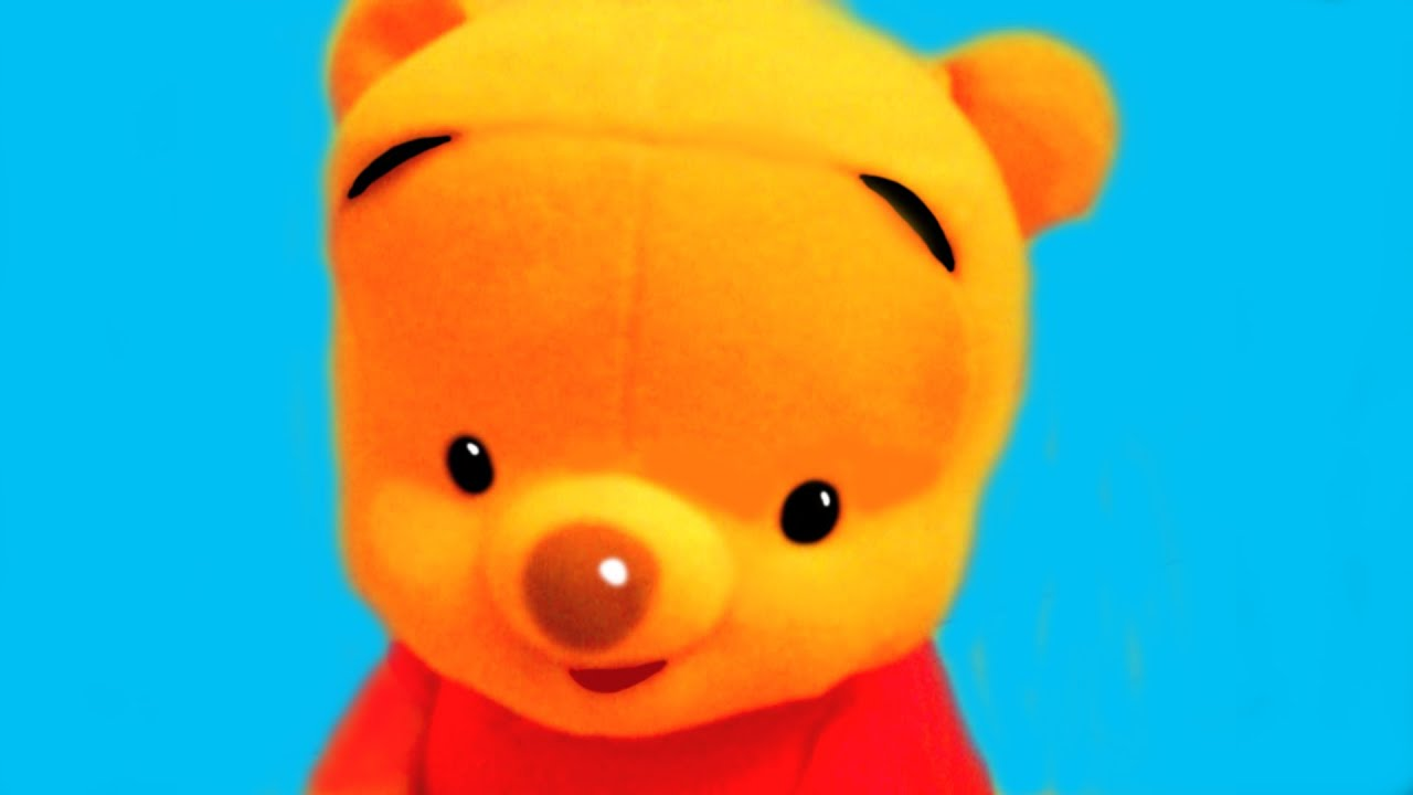 It is a photo of Satisfactory Pooh Bear Images