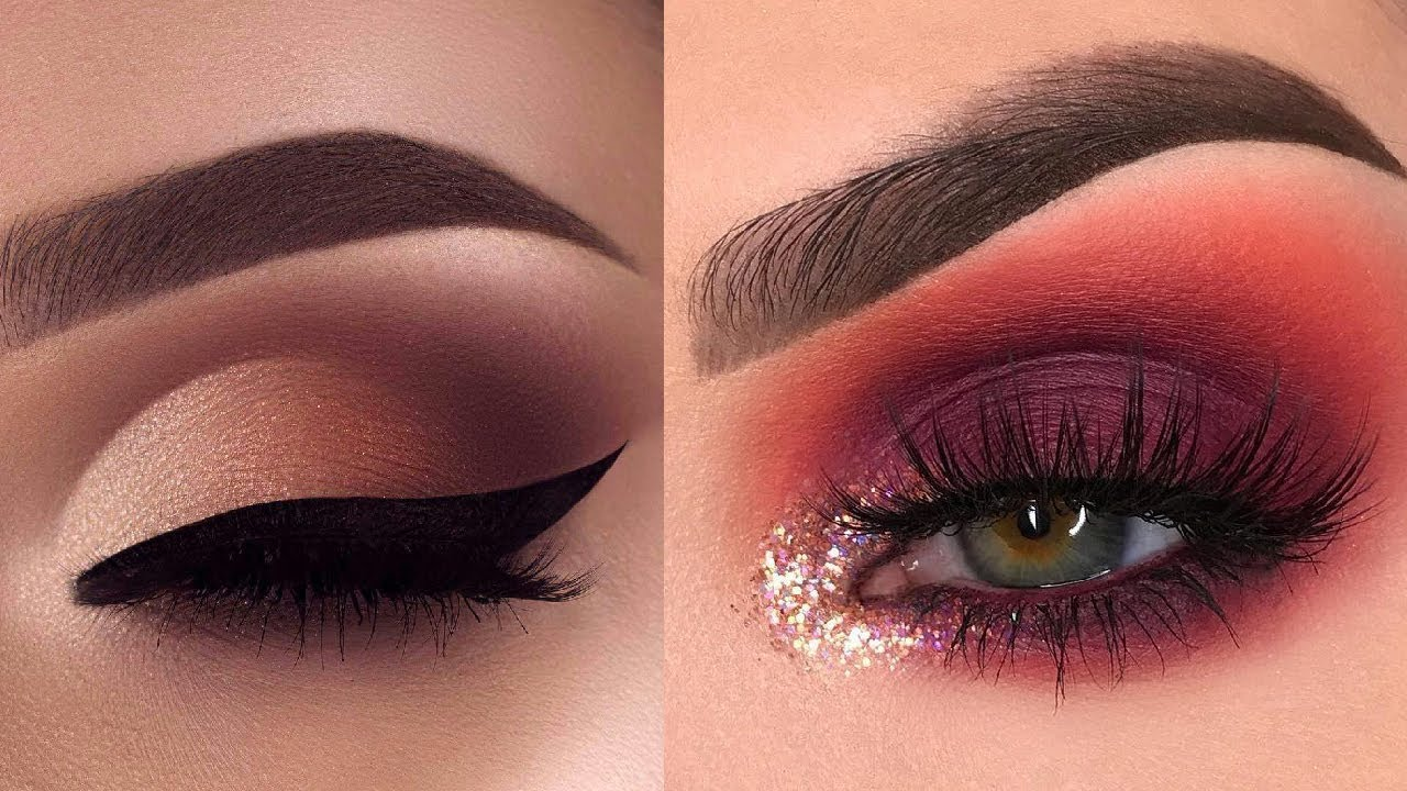 9 Glamorous Eye Makeup Ideas & Eye Shadow Tutorials  Gorgeous Eye Makeup  Looks