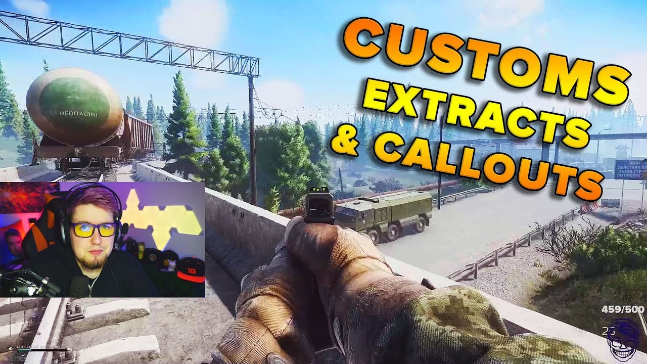 CUSTOMS EXTRACTION & CALLOUT GUIDE | Escape From Tarkov | TweaK