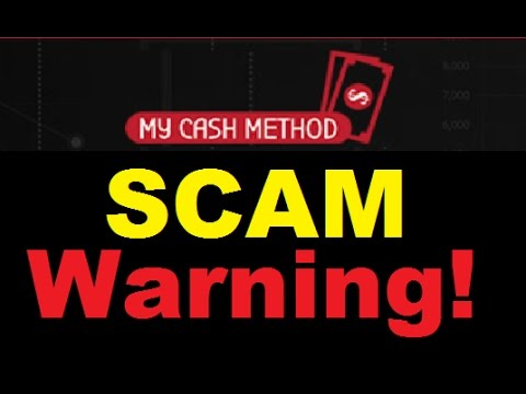 My Cash Method Review - 100% Trading SCAM Exposed!