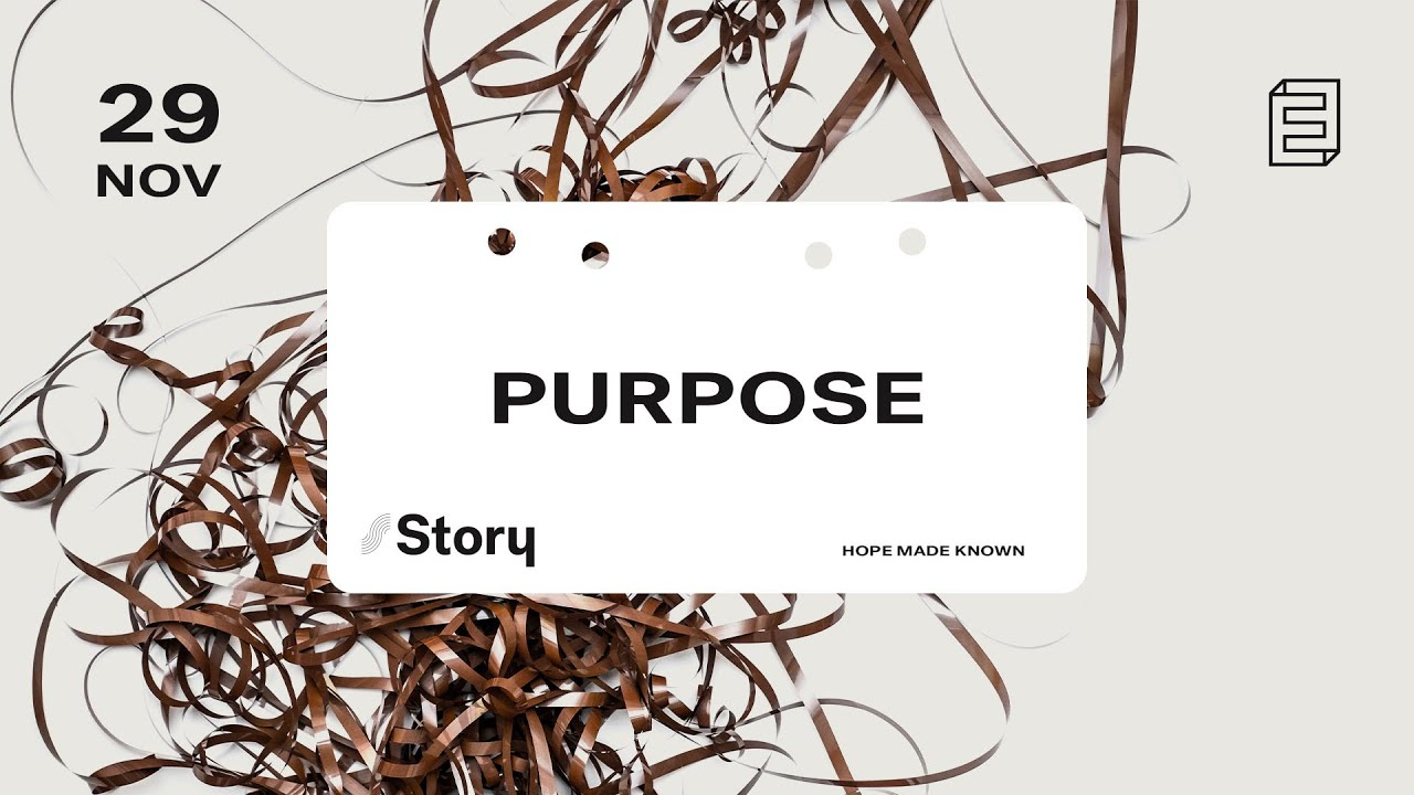 Story | Purpose Cover Image