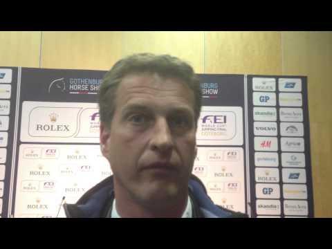 Marc Houtzager tweede in ronde twee van de wereldbekerfinale
