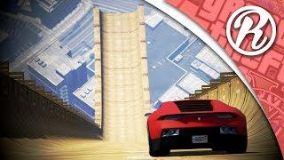 [GTA5] DE GROOTSTE STUNT JUMP IN GTA 5 ONLINE!! - Royalistiq