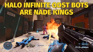 Halo Infinite Multiplayer ODST Bots Are Nade Kings