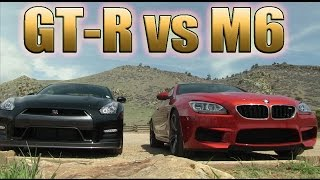 bmw m6 vs nissan gtr can it really win let s settle the discussion