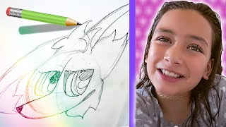 Zoey Draws for Her Tik Tok Fans
