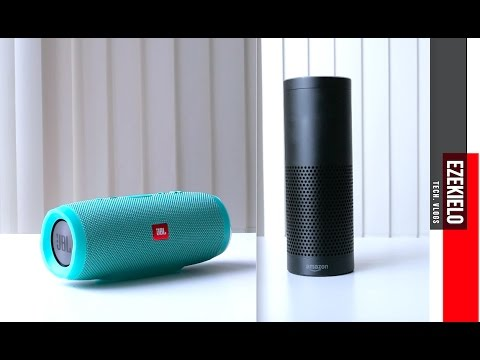 amazon echo vs jbl charge 3 bass comparison youtube. Black Bedroom Furniture Sets. Home Design Ideas