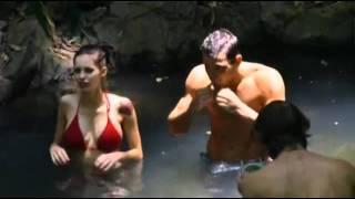 Mark Wright & Emily Scott flirting in the Jungle