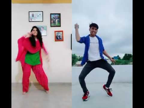 Rang bhare Badal se tere naino ke kajal se   Vijay Singh Majoka   Dance   TikTok