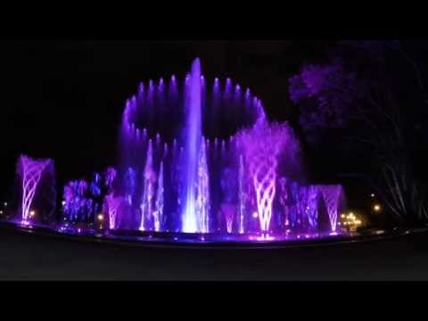 Musical Fountains of Margaret Island, Budapest [HD]