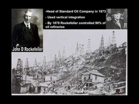Robber Barons or Captains of Industry: The Gilded Age