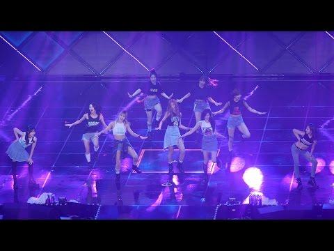 160806 트와이스 (TWICE) + GOT7 (콜라보) 딱 좋아 Just right [전체] 직캠 Fancam (JYP NATION) by Mera