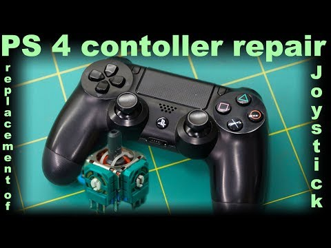 PS4 Controller repair [joystick replacement]