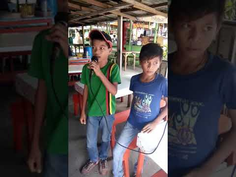 Two brothers from mawab compostilla valley sing here i am by airsupply courtesy of me Shaun Acerdin