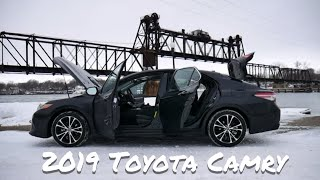 2019 Toyota Camry SE Review | full review and test drive