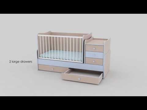Кроватка Bertoni MAXI PLUS