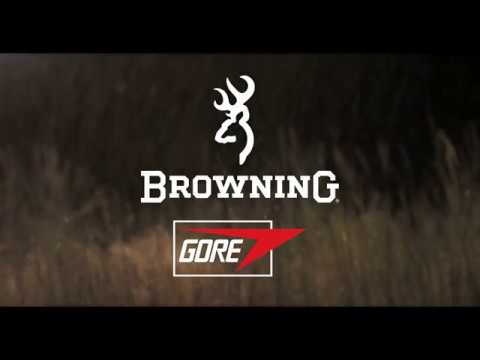Browning Reunites With GORE. The Best Bad Weather Huntingwear Ever.
