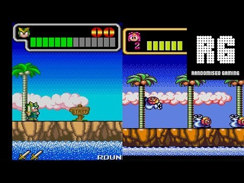 Wonder Boy III Monster Lair - Arcade & Mega Drive version comparison