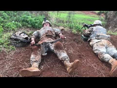 Charlie Company 100th Battalion 442nd Infantry, Annual Training 2017