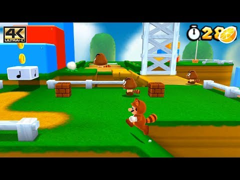 Citra 3DS Emulator - Super Mario 3D Land Ingame / Gameplay 4K 2160p (Canary  Build - 9abeae8)