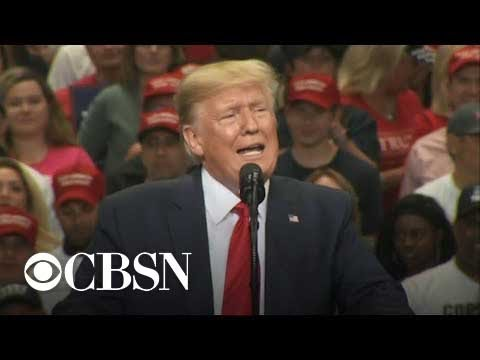 """""""I don't believe anymore that they love our country"""": Trump takes aim at Democrats at Texas rally"""