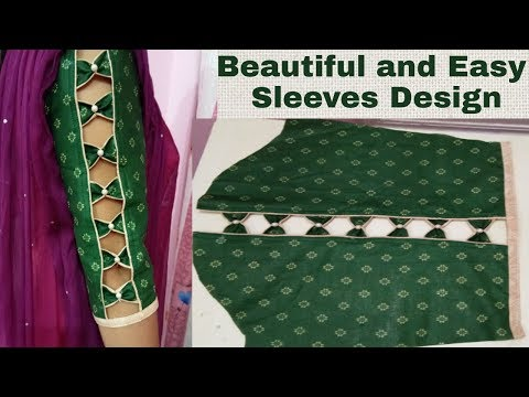 Stylish sleeves design/ aasteen ke design/ baju ke design-88-YouTube