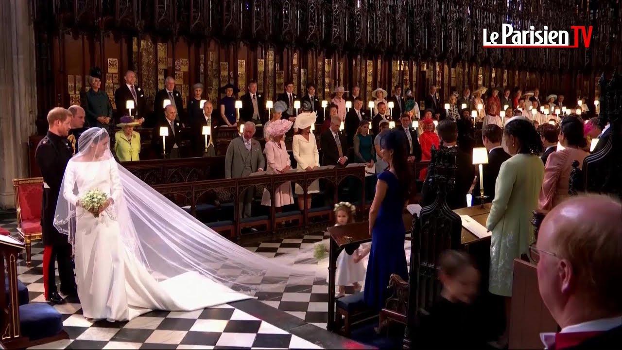 mariage princier l 39 arriv e de meghan markle et du prince