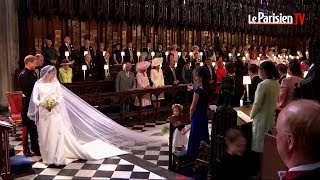 Mariage princier : L'arrivée de <b>Meghan Markle</b> et du <b>prince Harry</b> ...