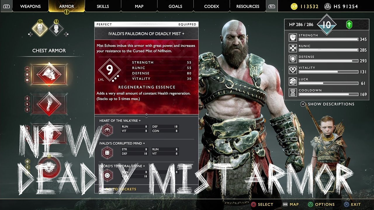 'God of War' Luck Stat: What It Does Plus Best Armor and ...