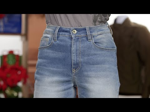 163cc864307c0 Rokker Womens Rokkertech High Waisted Slim Jeans Review - YouTube