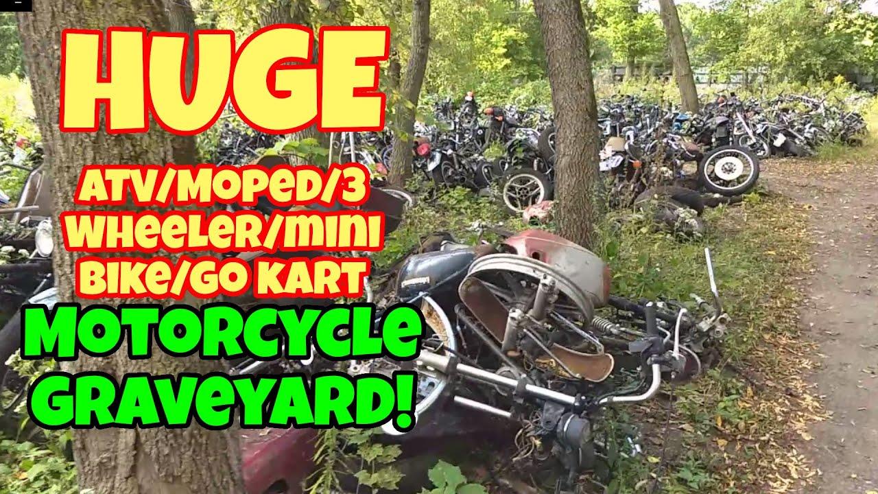 BIGGEST MOTORCYCLE GRAVEYARD???